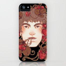 Strawberry Boy iPhone Case