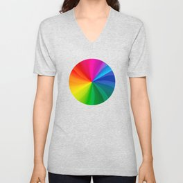 Spinning Wheel of Death Unisex V-Neck
