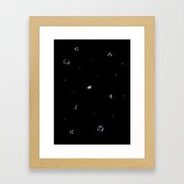 Sky Treasury #1 Framed Art Print