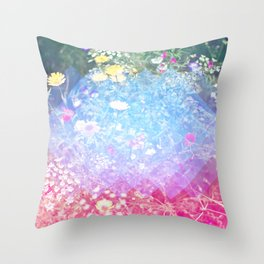 Flora Light Throw Pillow