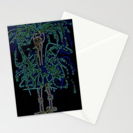 Neon Sally Rand Stationery Cards