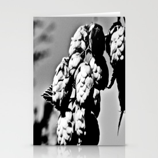 Hops B&W Stationery Cards