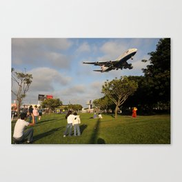 LAX Arrival Canvas Print
