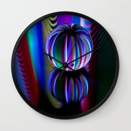 Floating crystal ball Wall Clock