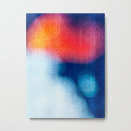 BLUR / Burning Ice Metal Print