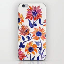 Sunflowers – Sunset Palette iPhone Skin