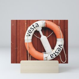 Lifesaver / Lofoten Islands, Norway Mini Art Print
