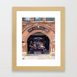Engine 33 Framed Art Print