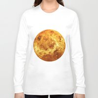 venus Long Sleeve T-shirts featuring Venus by Tobias Bowman