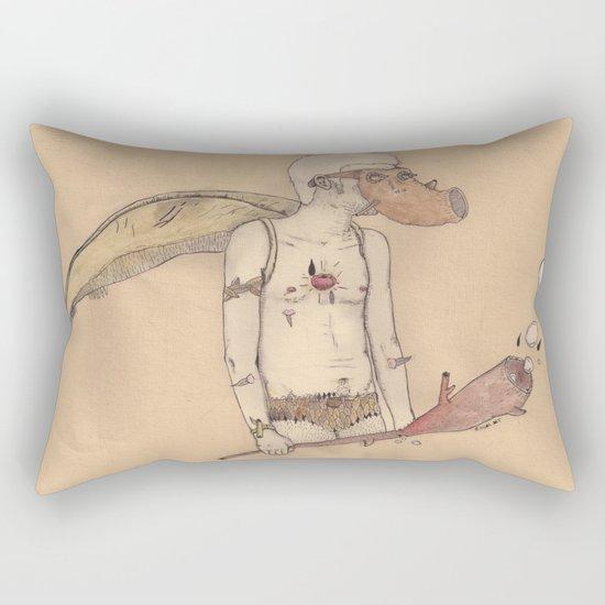 MT man Rectangular Pillow