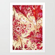 Composition of matter Art Print