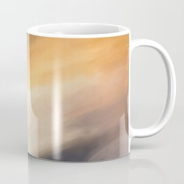 Abstract Beige to Grey Shades.   Like painted on canvas. Coffee Mug