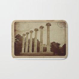 Old Postcard--Mizzou Bath Mat