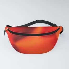 popped fire, extreme close up Fanny Pack