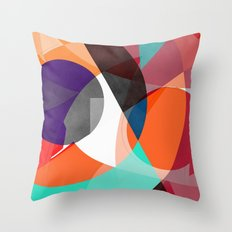 Abstract 2017 004 Throw Pillow