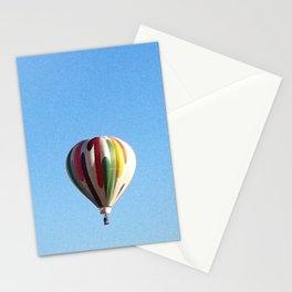 White Hot Air Balloon Stationery Cards