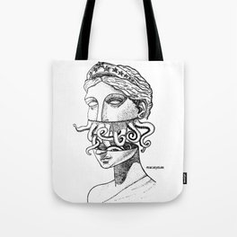 Greek Renaissance Octopus Tote Bag