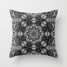 Eight Aisles of Seating Throw Pillow
