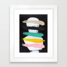 Untitled (Finger Paint 1) Framed Art Print