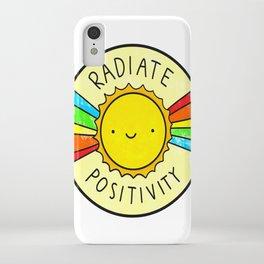 positivity iPhone Case