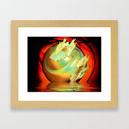 Arising from the Waters Framed Art Print