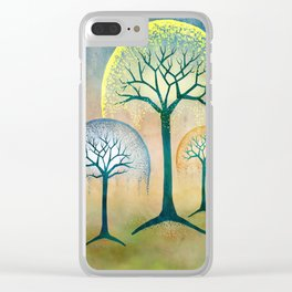 Waterfall Willows Clear iPhone Case