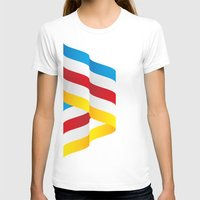 flag T-shirts featuring Flag by Kexit guys
