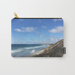 Ocean Surf In Carlsbad, California Carry-All Pouch