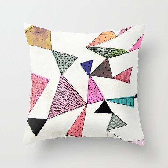 TD16 Throw Pillow