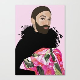 queen jvn Canvas Print