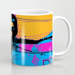 On Edge - Skateboarder Coffee Mug