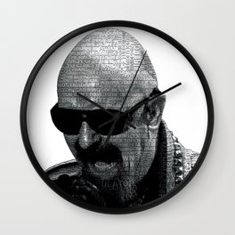 Metal God Wall Clock