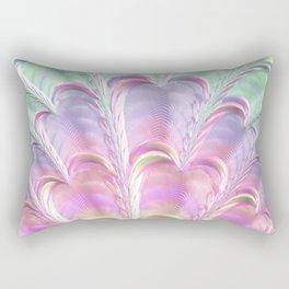Pastel Fan Rectangular Pillow