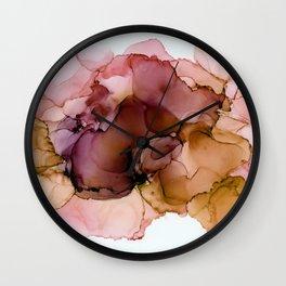 Earthy splash Wall Clock
