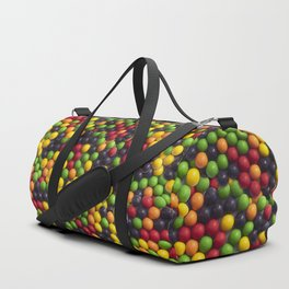 Everlasting Gobstopper Candy Photo Pattern Duffle Bag
