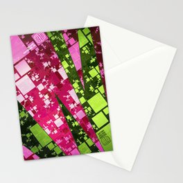 Square Watermelon Stationery Cards