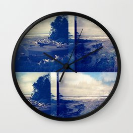 Kalaloch Beach Wall Clock