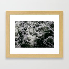 The baltic sea Framed Art Print