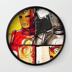 Iron Man: Poker Face Wall Clock