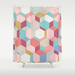 HEX Shower Curtain