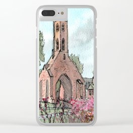 Greyfriars Tower Clear iPhone Case