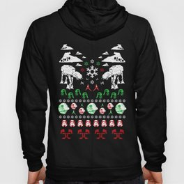 Ugly Christmas Sweater Win - Star Wars Empire style Hoody
