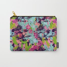 Happy Florals Carry-All Pouch