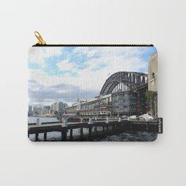 Rear View Sydney Harbor Bridge Carry-All Pouch