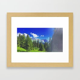 Super Morzine Framed Art Print
