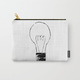 Lightbulb Sketch Carry-All Pouch