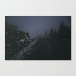 harsh conditions Canvas Print