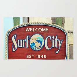Welcome To Surf City Rug
