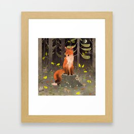 Rotfuchs Framed Art Print
