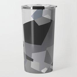 Grayish - Abstract #society6 #decor #buyart Travel Mug